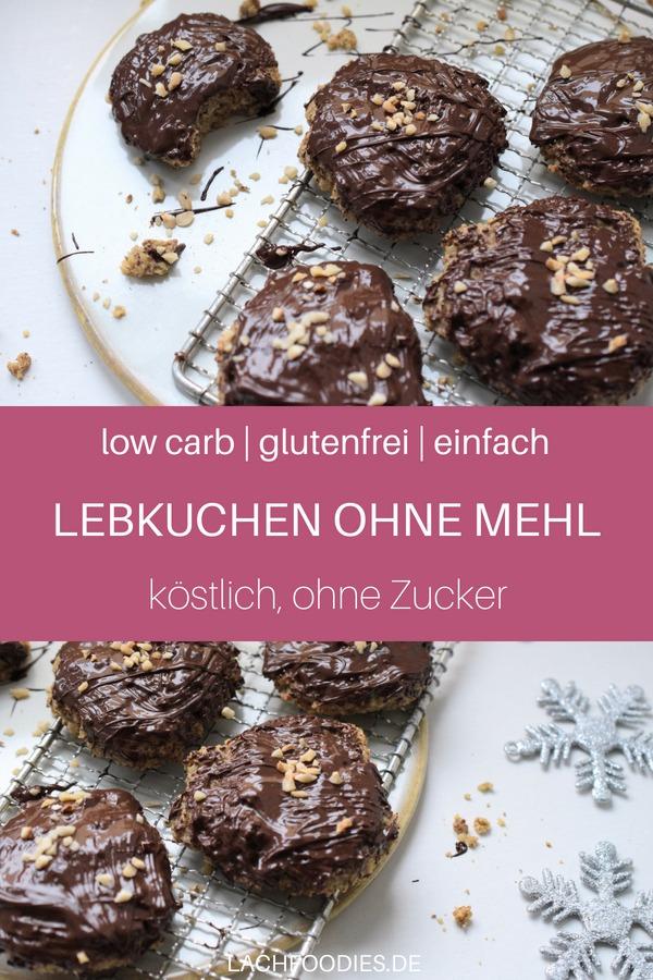 Hmm, wie das duftet: Low Carb Lebkuchen-Rezept vom Blech. Lass es dir gut gehen. Low Carb Plätzchen-Rezept ohne Zucker, glutenfrei backen für Weihnachten. Lebkuchen ohne Mehl und Zucker. #lowcarbrezept #plätzchen #weihnachten