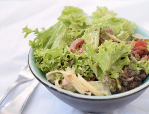 Der Lachfoodies Burgersalat