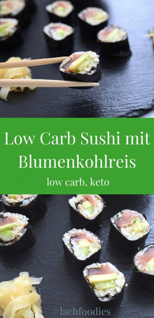 Low Carb Sushi mit Blumenkohlreis Rezept