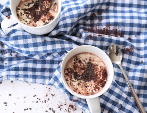 Heiße Low Carb Schokolade (laktosefrei)