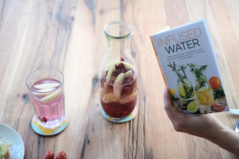 Wasser mit Geschmack infused Water Trink Tipps