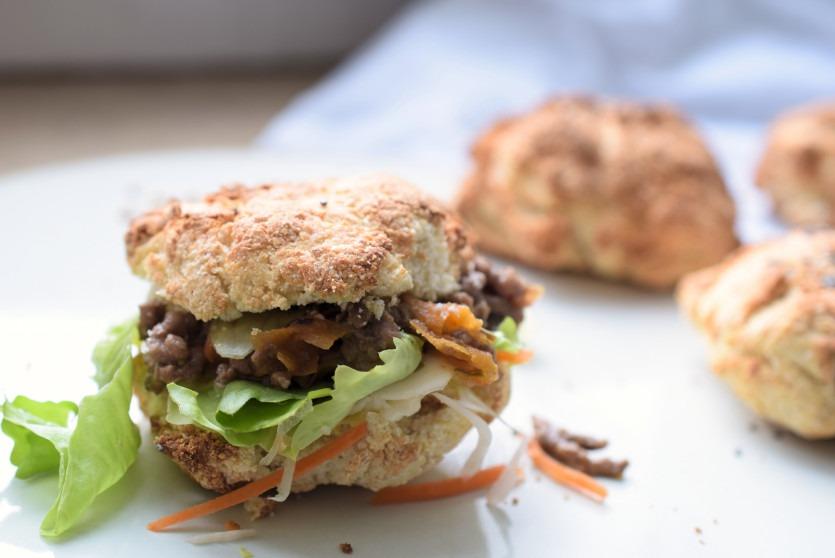 Lachfoodies Low Carb Burgerbrot