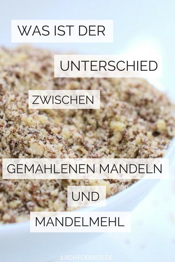 Unterschied gemahlene Mandeln und Mandelmehl