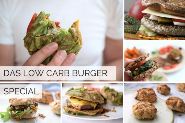 Das Low Carb Burger Special