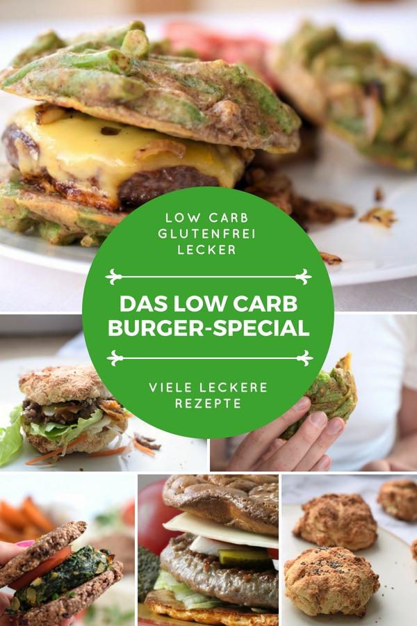 Das Low Carb Burger Special Rezeptsammlung