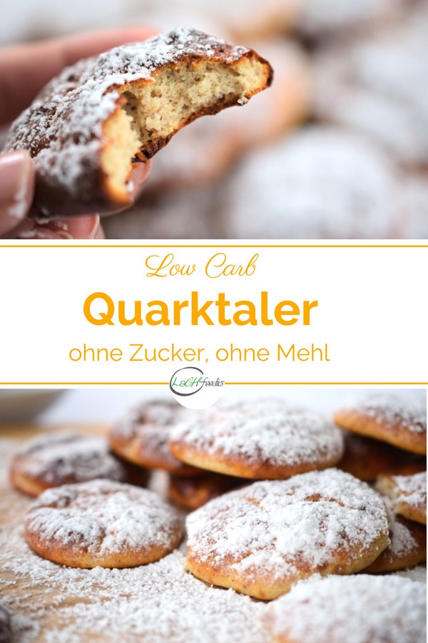 Low Carb Quarktaler Rezept