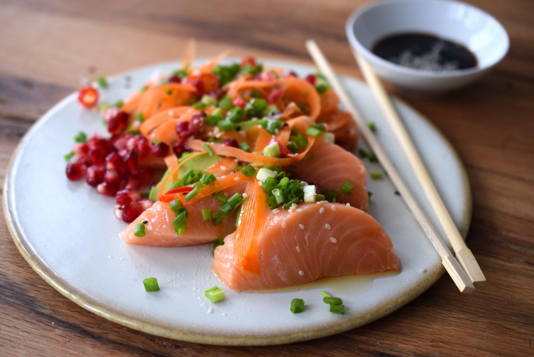 Sashimi Lachs Rezept