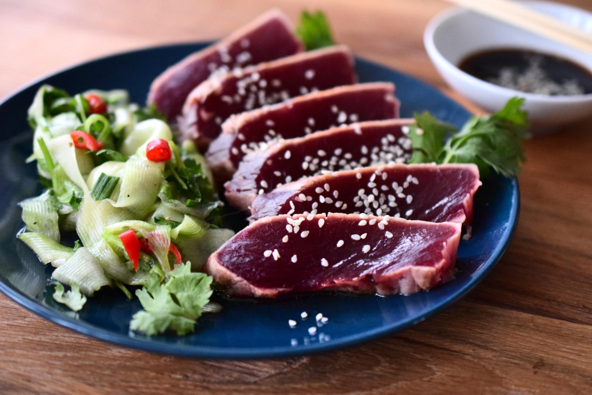 Thunfisch Sashimi Rezept