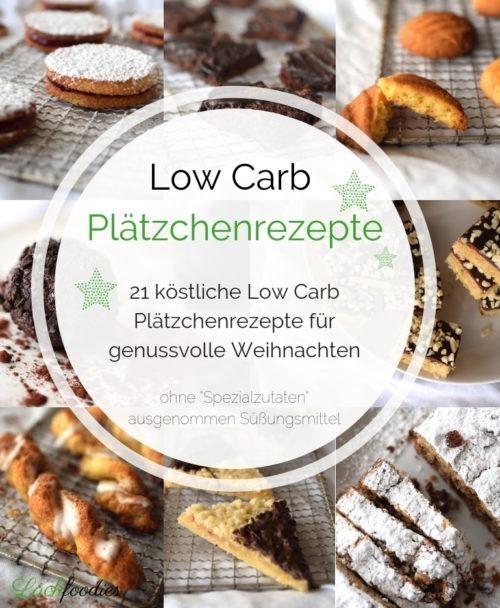 Low Carb Plätzchenrezepte Backbuch