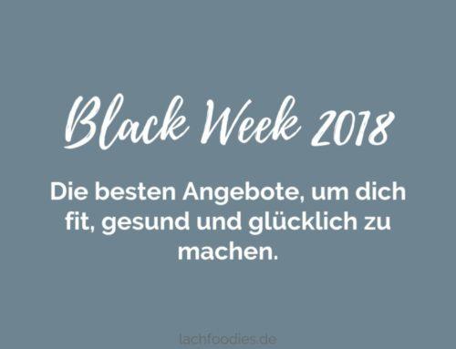 Die besten Black Friday Angebote 2018 rund um eine zuckerfreie Ernährung und Fitness