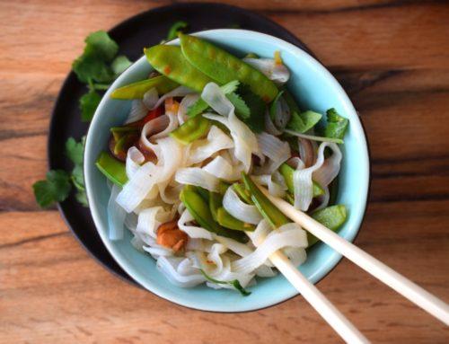 Anzeige | Asiatische Shirataki Nudeln mit Slendier (Low Carb)
