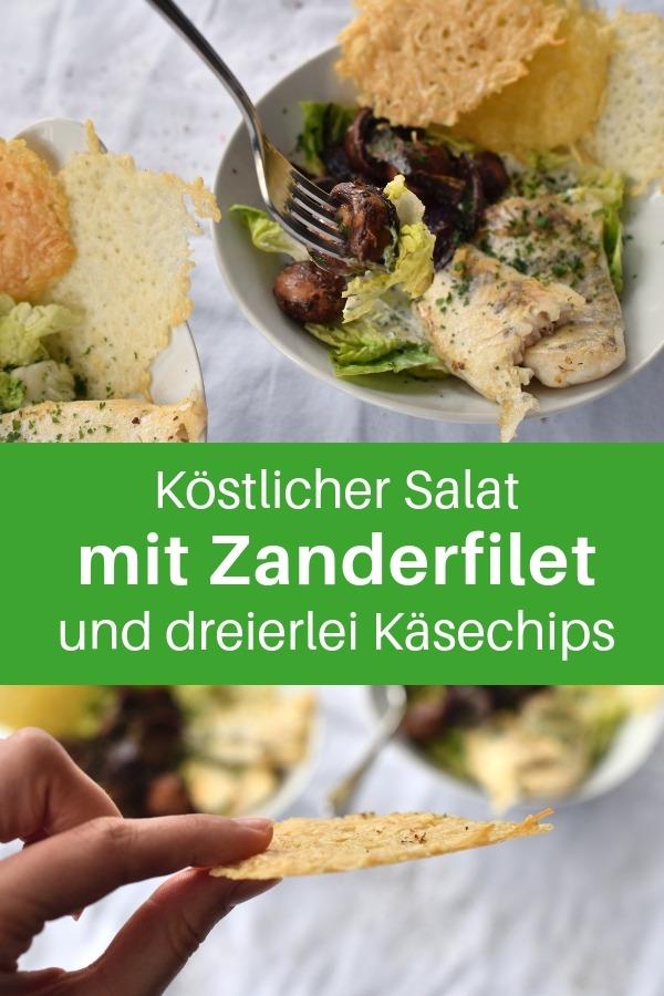 Der Hauptbestandteil dieses Salat-Rezept sind Käsechips. Käsechips selber machen ist ziemlich einfach, schnell gemacht und schmeckt einfach himmlisch. Egal, ob es Parmesanchips oder Emmentalerchips sind. Wenn du gesund essen willst oder dich für gesunde Ernährung interessierst, dann ist das ein tolles Rezept für dich. Ein gesundes Rezept zum genießen und Abnehmen. #lachfoodies #salat #gesund #fisch