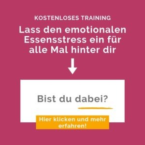 Emotionales Essen training