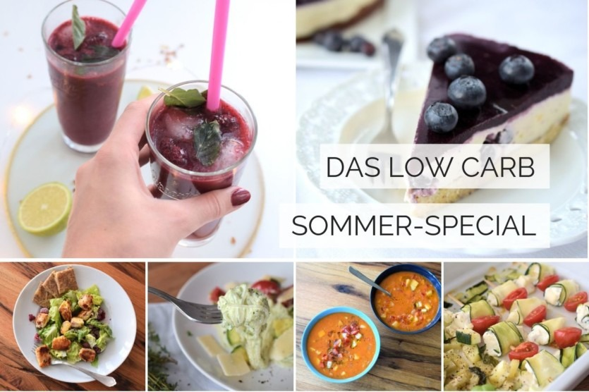 Low Carb Sommerrezepte