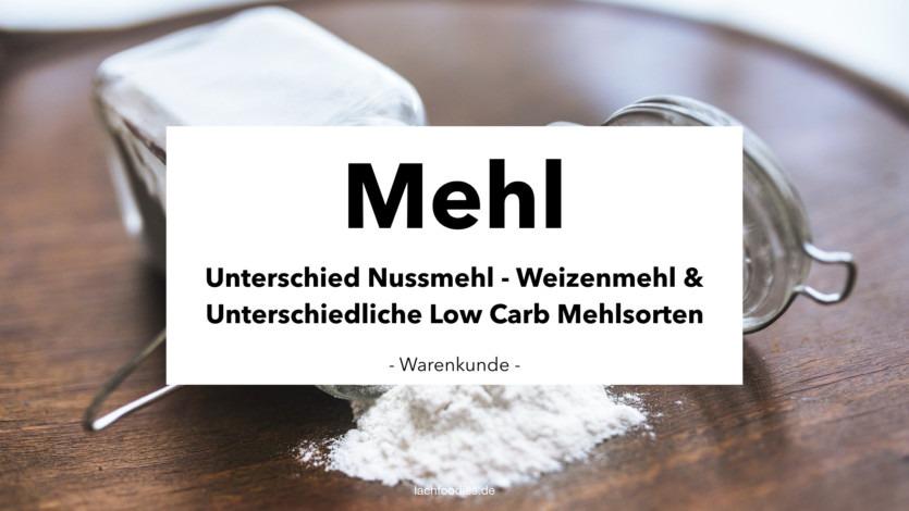 Low Carb Mehlsorten