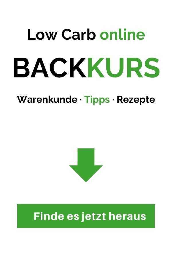 low carb backkurs